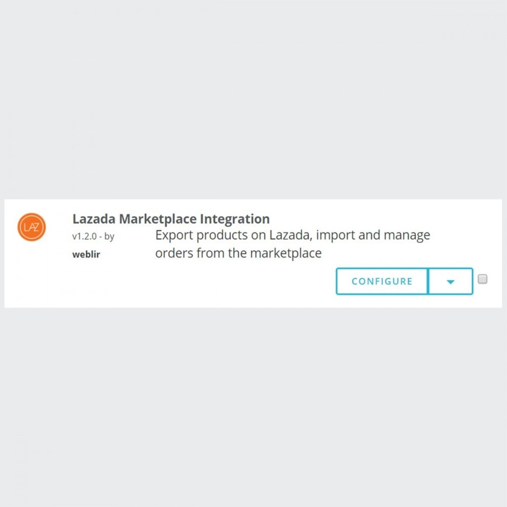 module - Marketplace - Lazada Marketplace Integration - 3