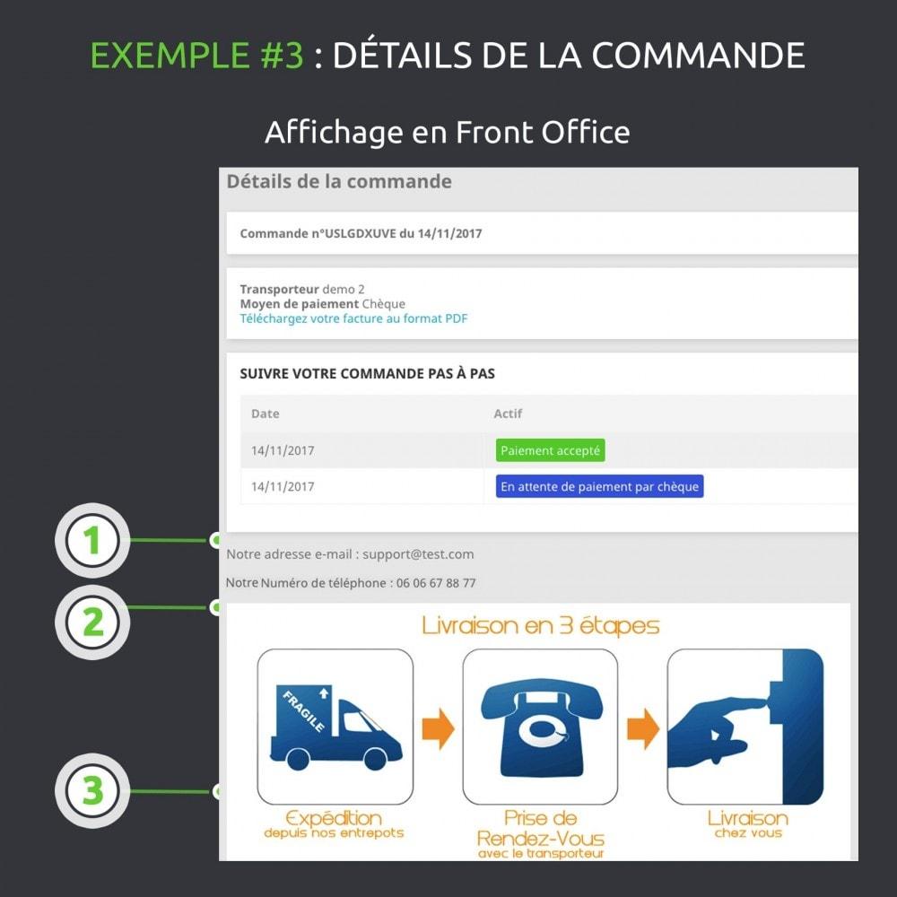 module - Information supplémentaire & Onglet produit - Champs personnalisés avancés : créer de nouveaux champs - 13