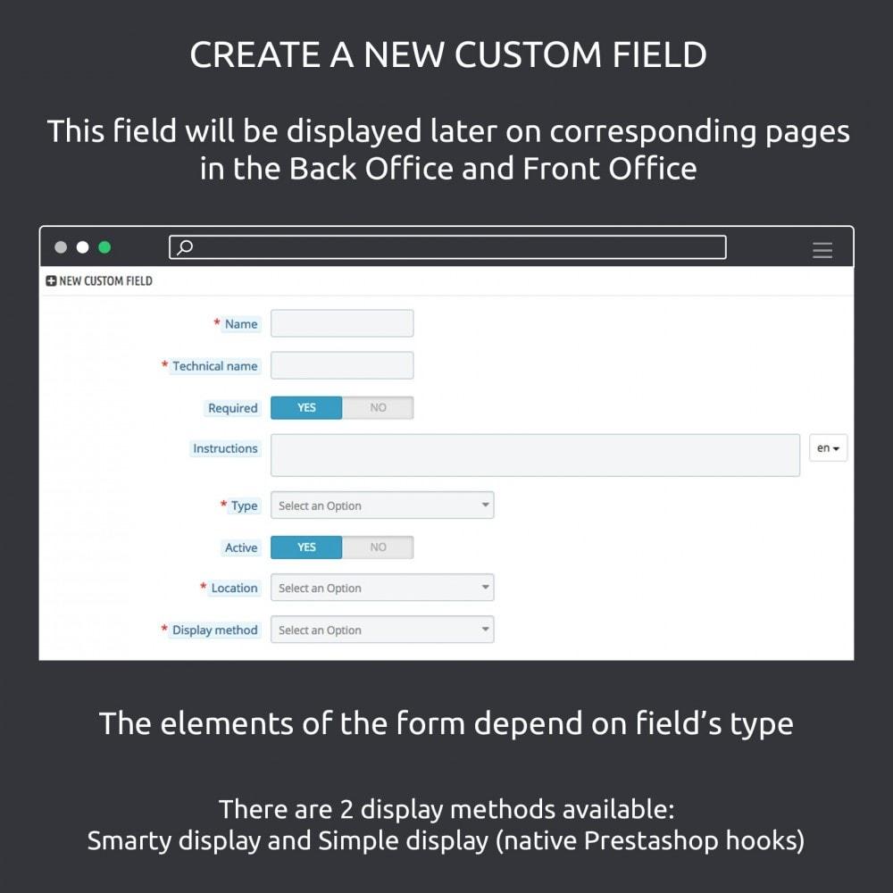 module - Informaciones adicionales y Pestañas - Advanced Custom Fields : create new fields quickly - 3