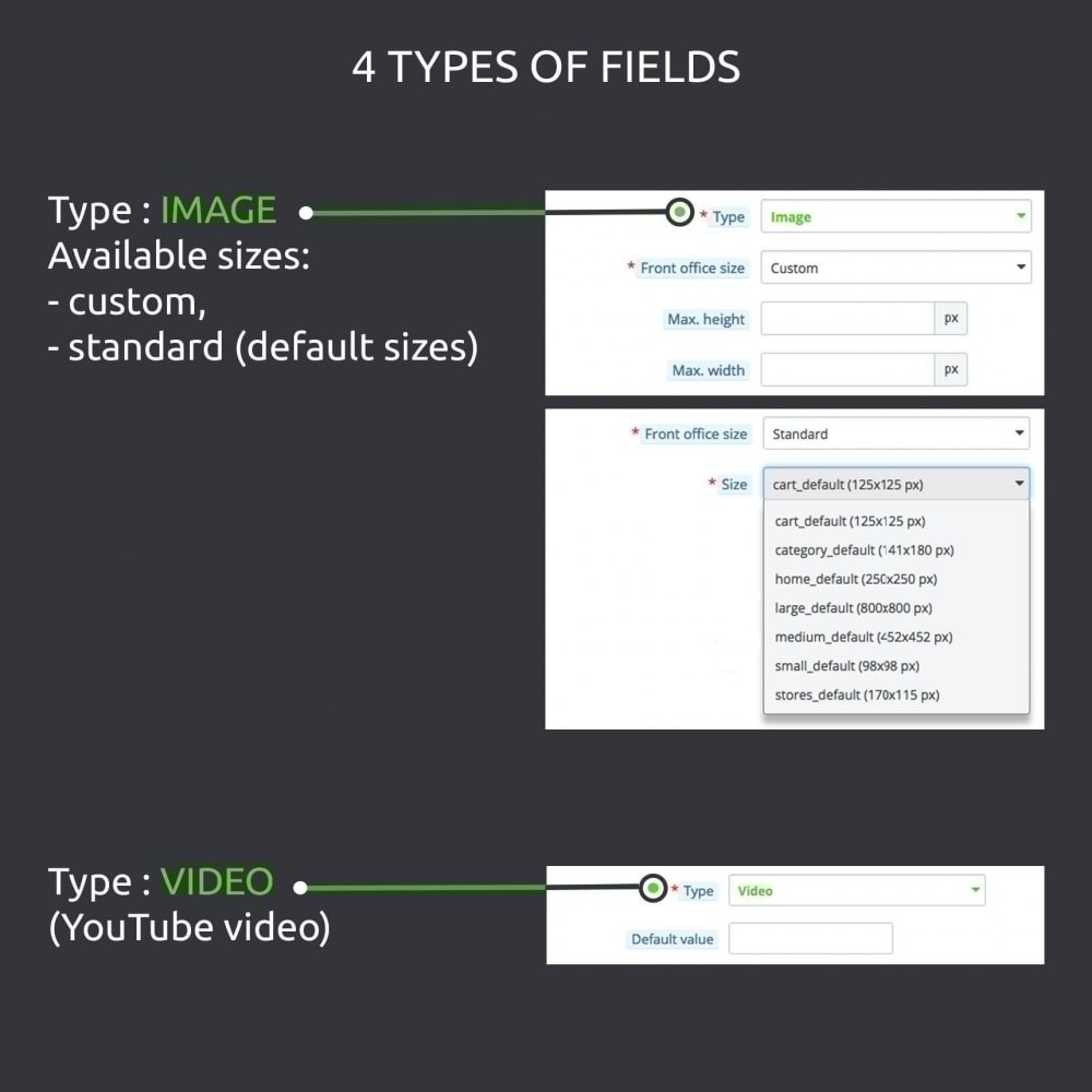 module - Informaciones adicionales y Pestañas - Advanced Custom Fields : create new fields quickly - 5