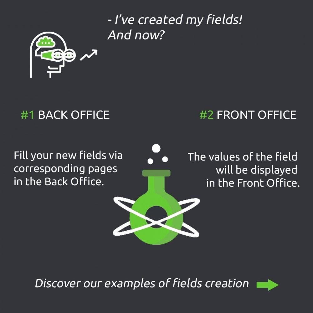 module - Informaciones adicionales y Pestañas - Advanced Custom Fields : create new fields quickly - 6