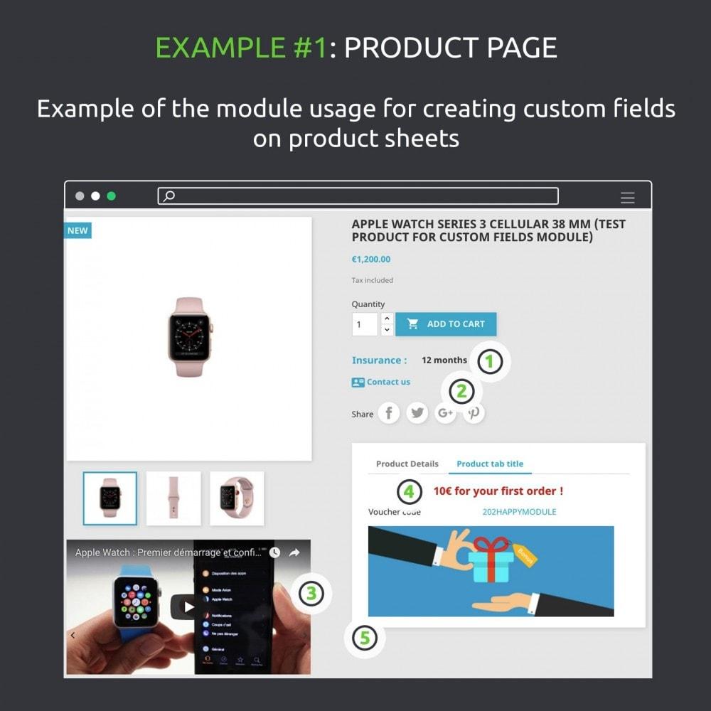 module - Informaciones adicionales y Pestañas - Advanced Custom Fields : create new fields quickly - 7