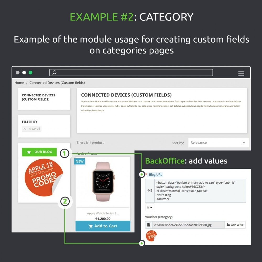 module - Informaciones adicionales y Pestañas - Advanced Custom Fields : create new fields quickly - 11