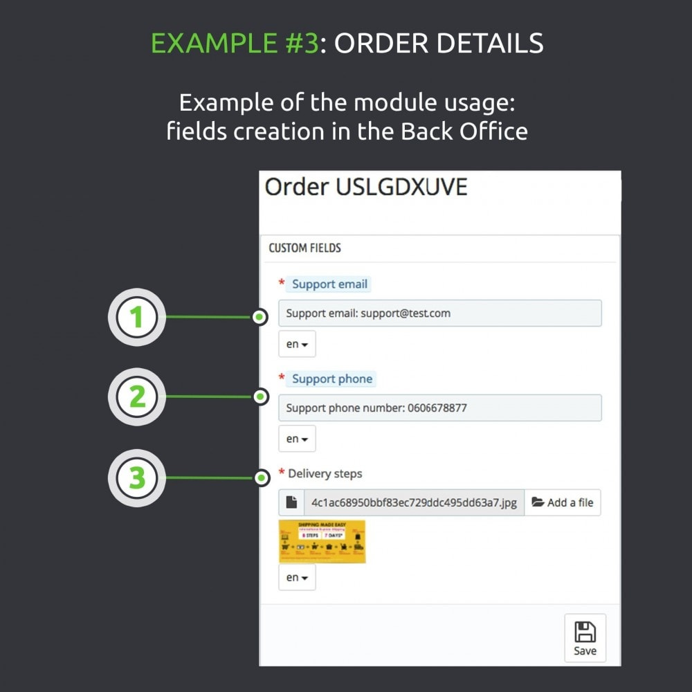 module - Informaciones adicionales y Pestañas - Advanced Custom Fields : create new fields quickly - 12