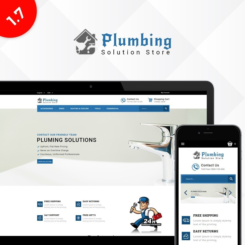 theme - Casa & Giardino - Plumbing Solution Store - 1