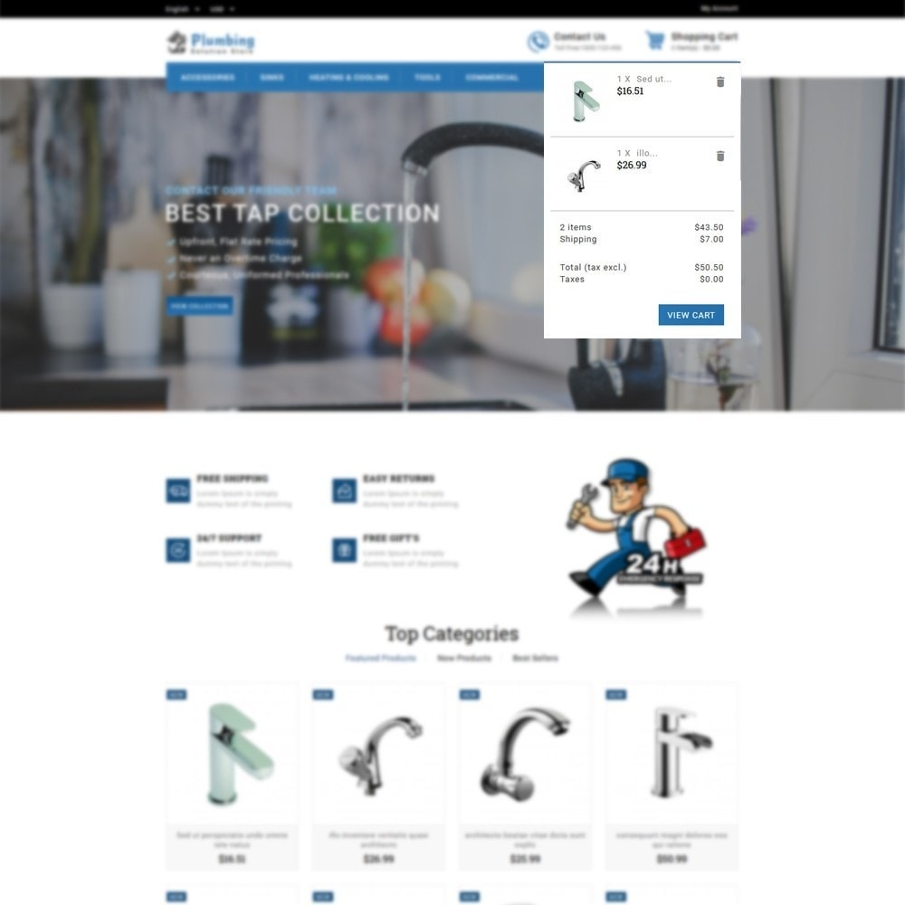 theme - Casa & Giardino - Plumbing Solution Store - 6
