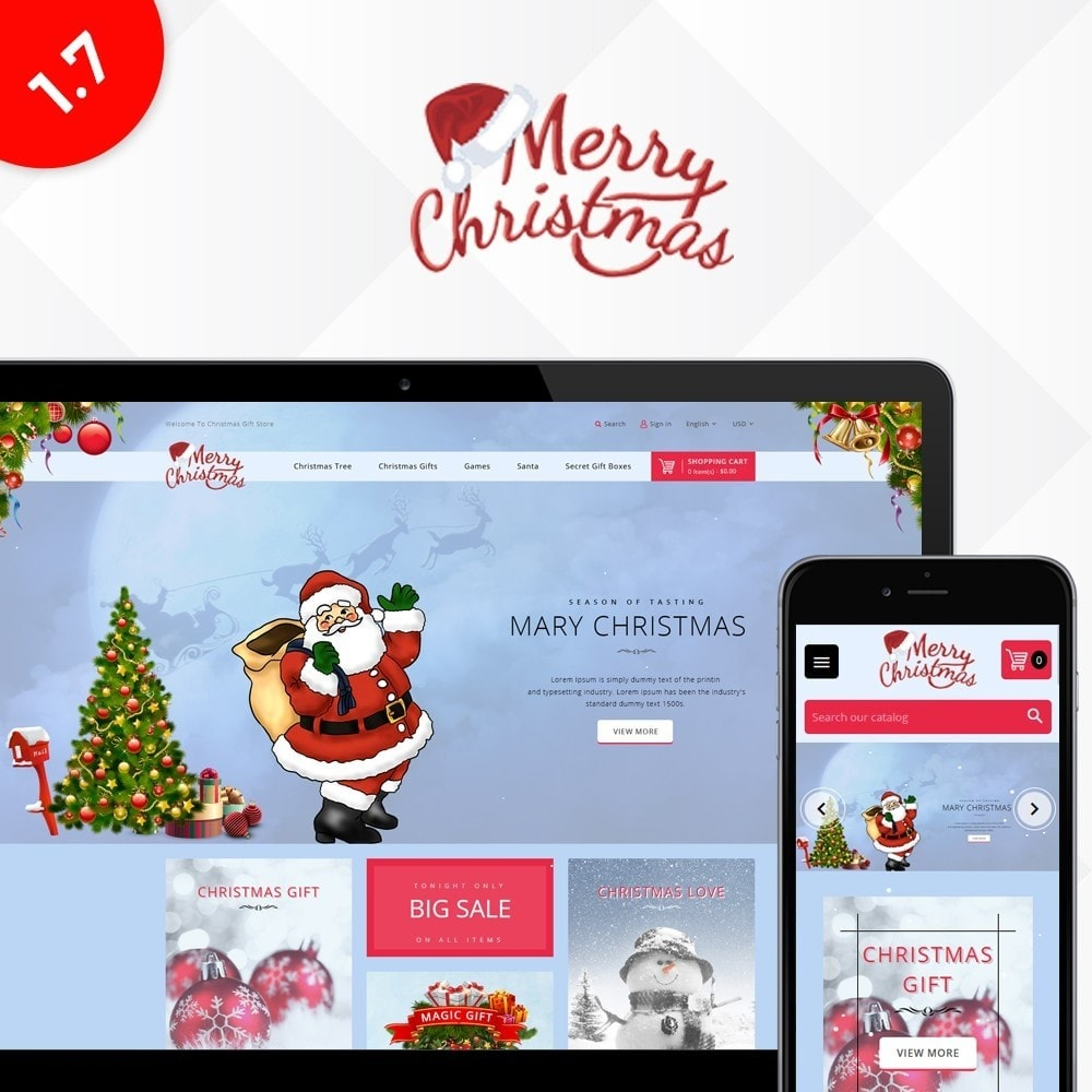 theme - Gifts, Flowers & Celebrations - Christmas Store - 1