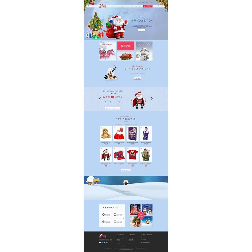 theme - Gifts, Flowers & Celebrations - Christmas Store - 2