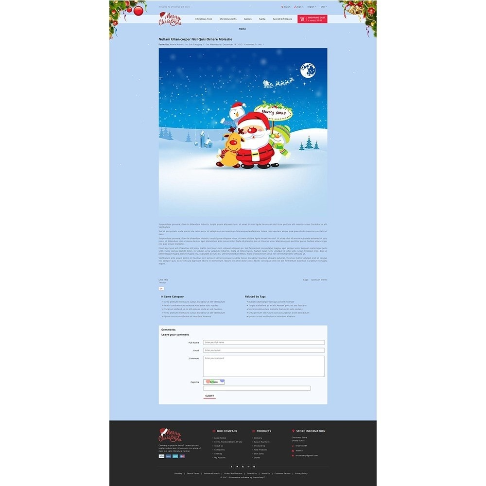 theme - Gifts, Flowers & Celebrations - Christmas Store - 8
