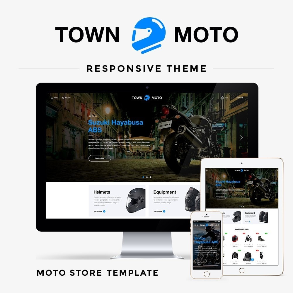 theme - Automotive & Cars - Town Moto - 1