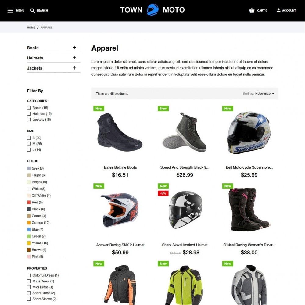 theme - Auto & Moto - Town Moto - 5