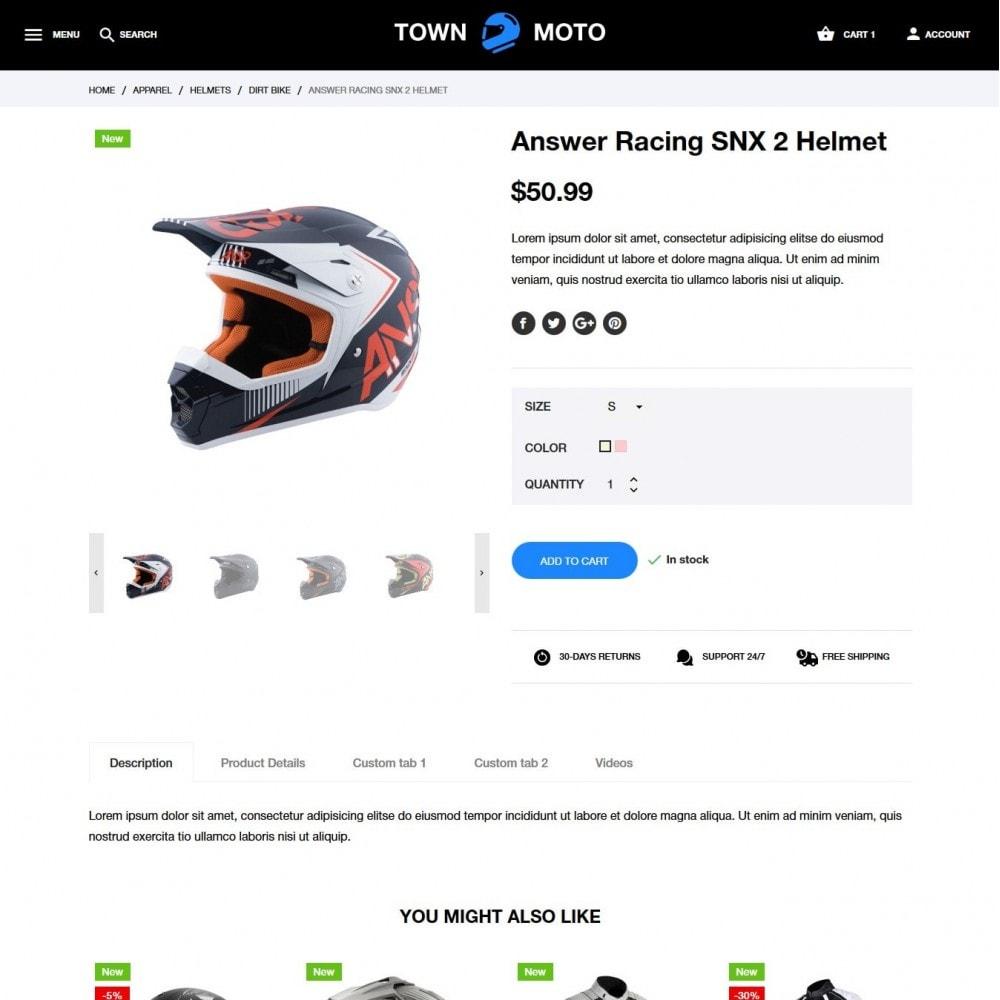 theme - Automotive & Cars - Town Moto - 6