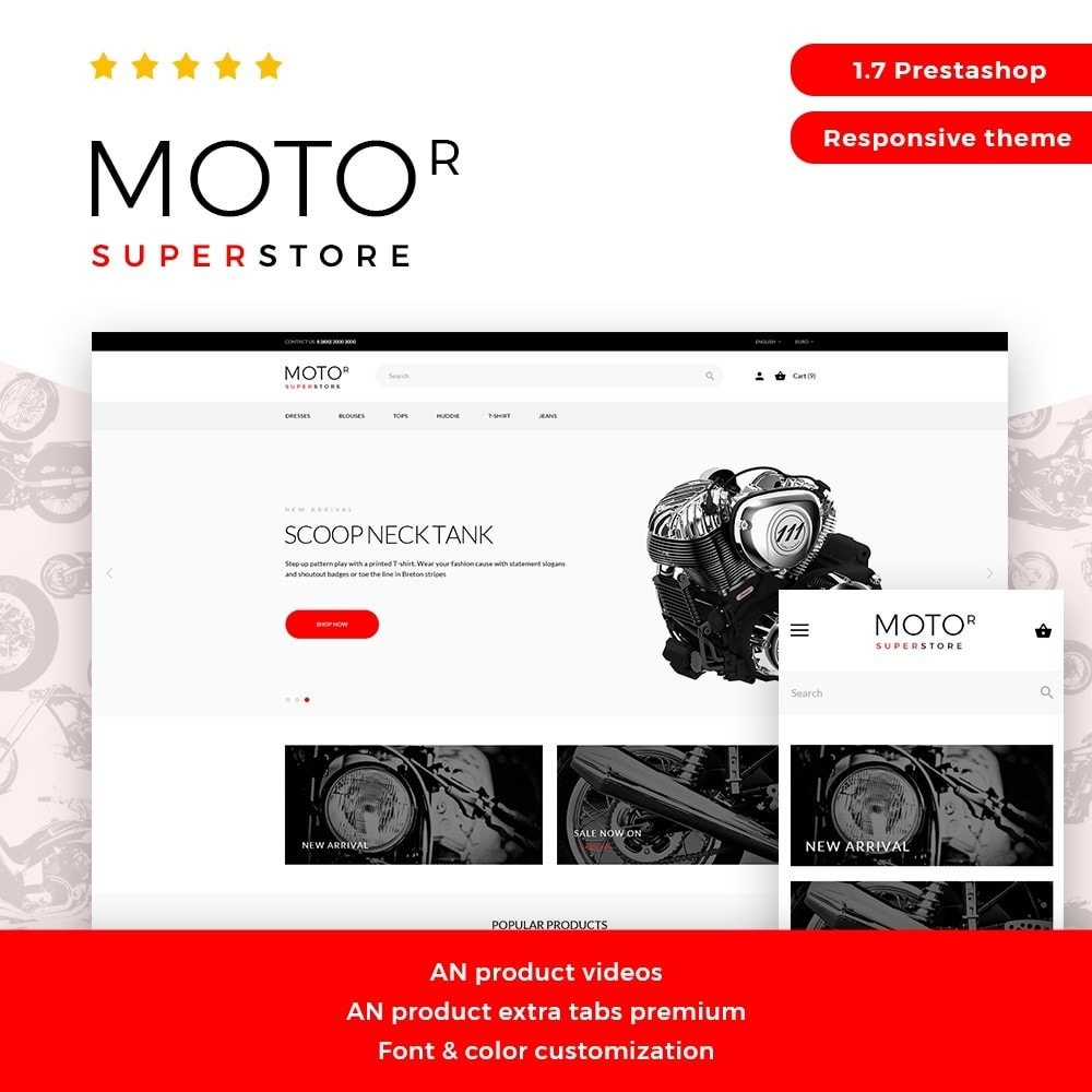 theme - Carros & Motos - Motor - 1