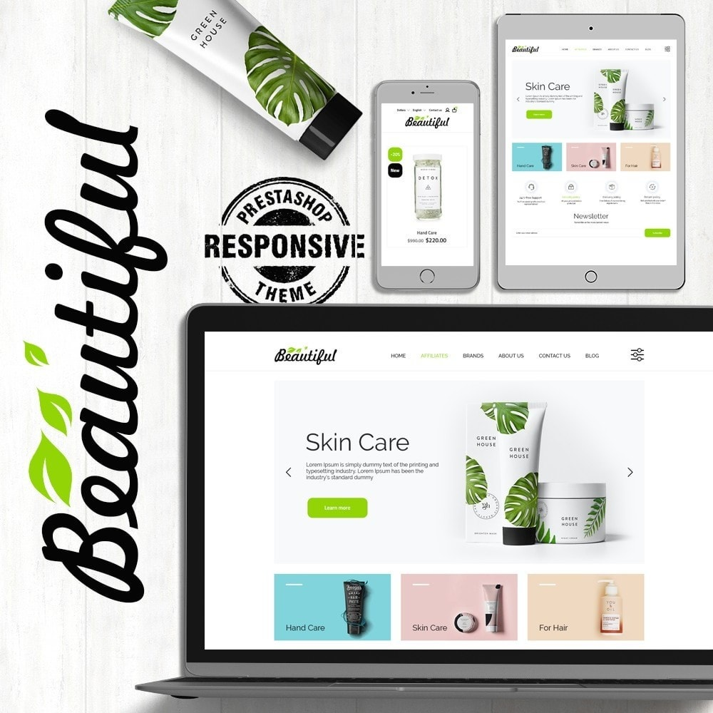 theme - Здоровье и красота - Beautiful Cosmetics - 1