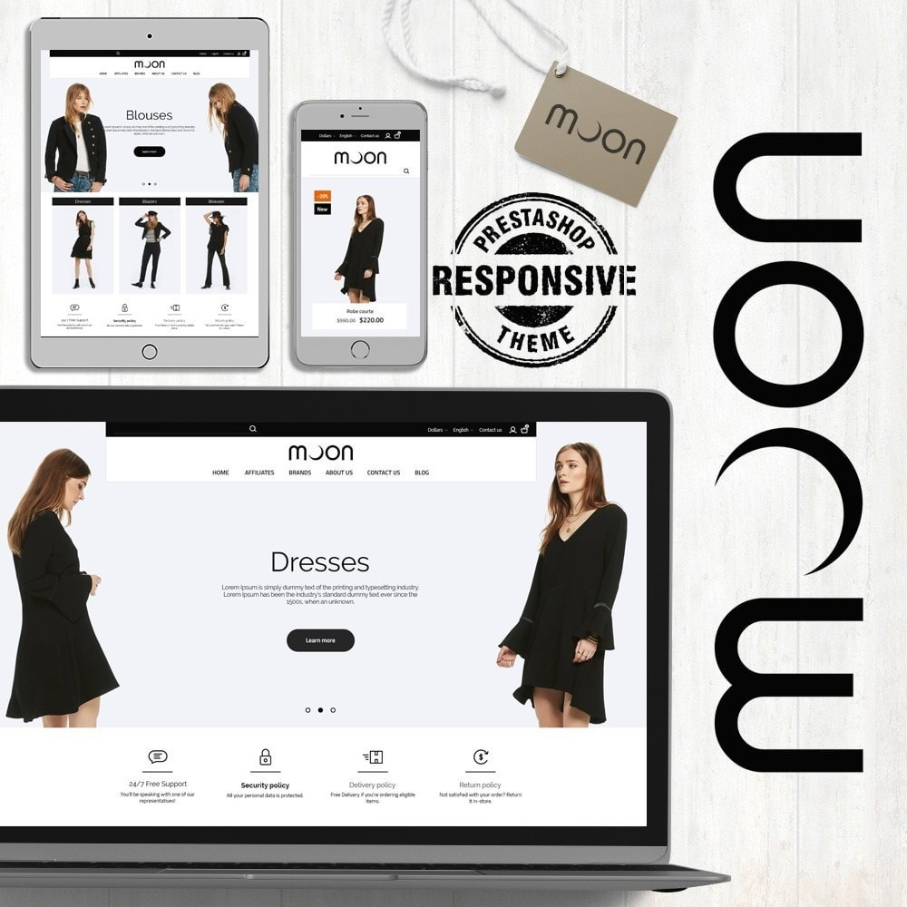 theme - Mode & Schuhe - Moon Fashion Store - 1