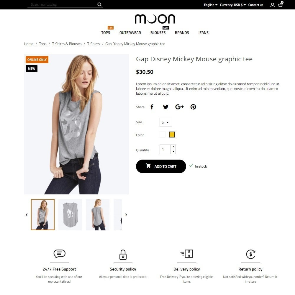 theme - Mode & Schuhe - Moon Fashion Store - 5