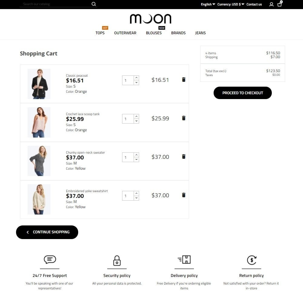 theme - Mode & Schuhe - Moon Fashion Store - 7