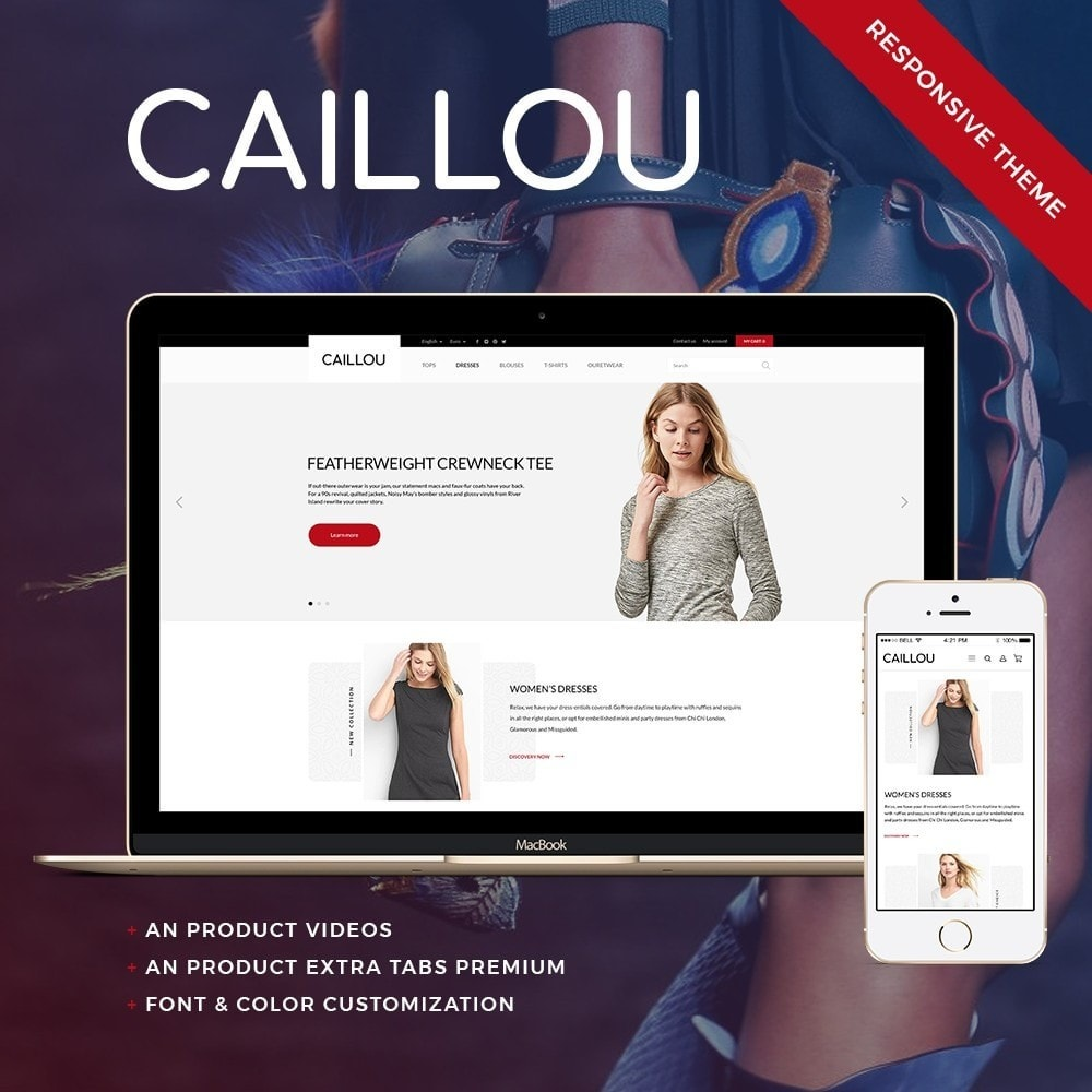 theme - Mode & Chaussures - Caillou Fashion Store - 1