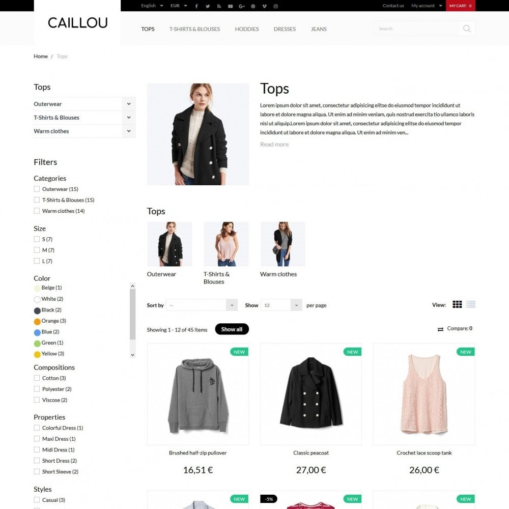 theme - Mode & Chaussures - Caillou Fashion Store - 6
