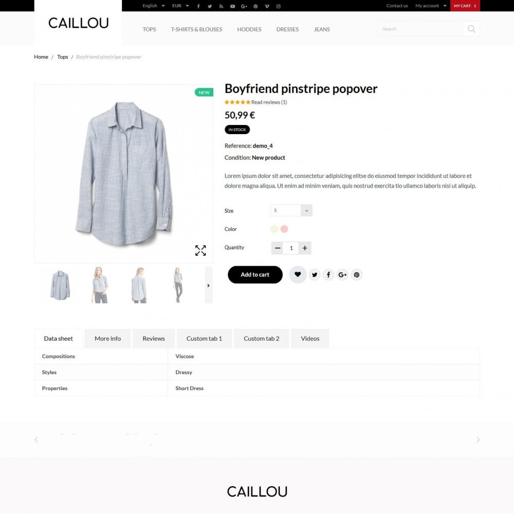 theme - Mode & Chaussures - Caillou Fashion Store - 7