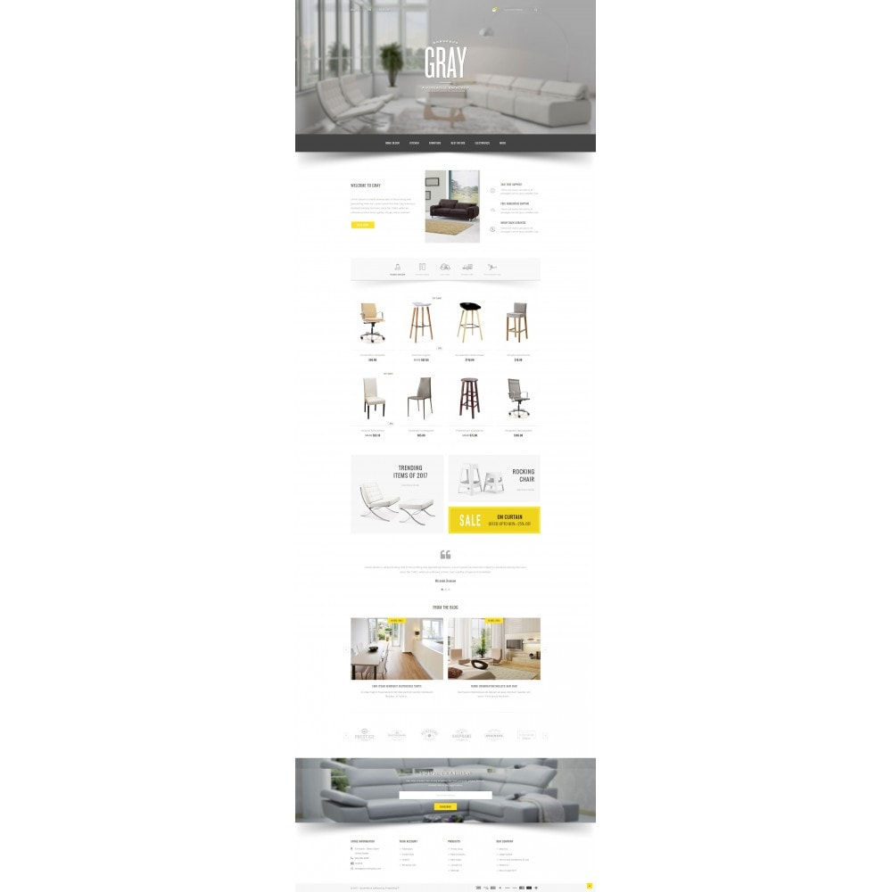 theme - Home & Garden - Gray Furniture Store - 2