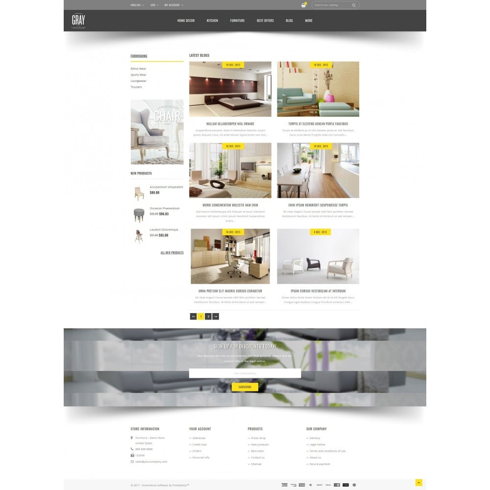 theme - Home & Garden - Gray Furniture Store - 9