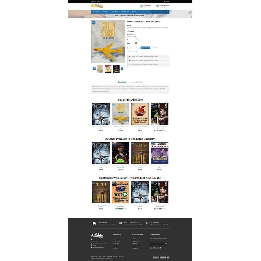 theme - Desporto, Actividades & Viagens - Atlanta Magazine Store - 5