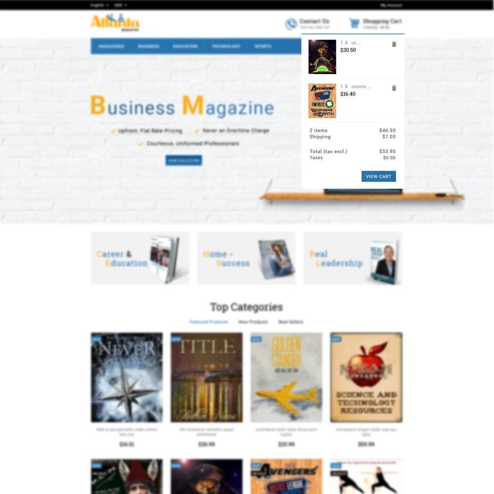 theme - Desporto, Actividades & Viagens - Atlanta Magazine Store - 6