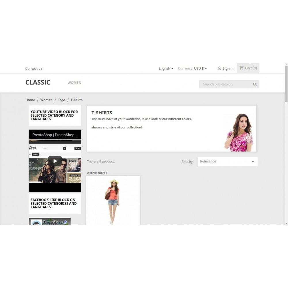 module - Vidéo & Musique - YouTube Video Block for Selected Categories & Languages - 2