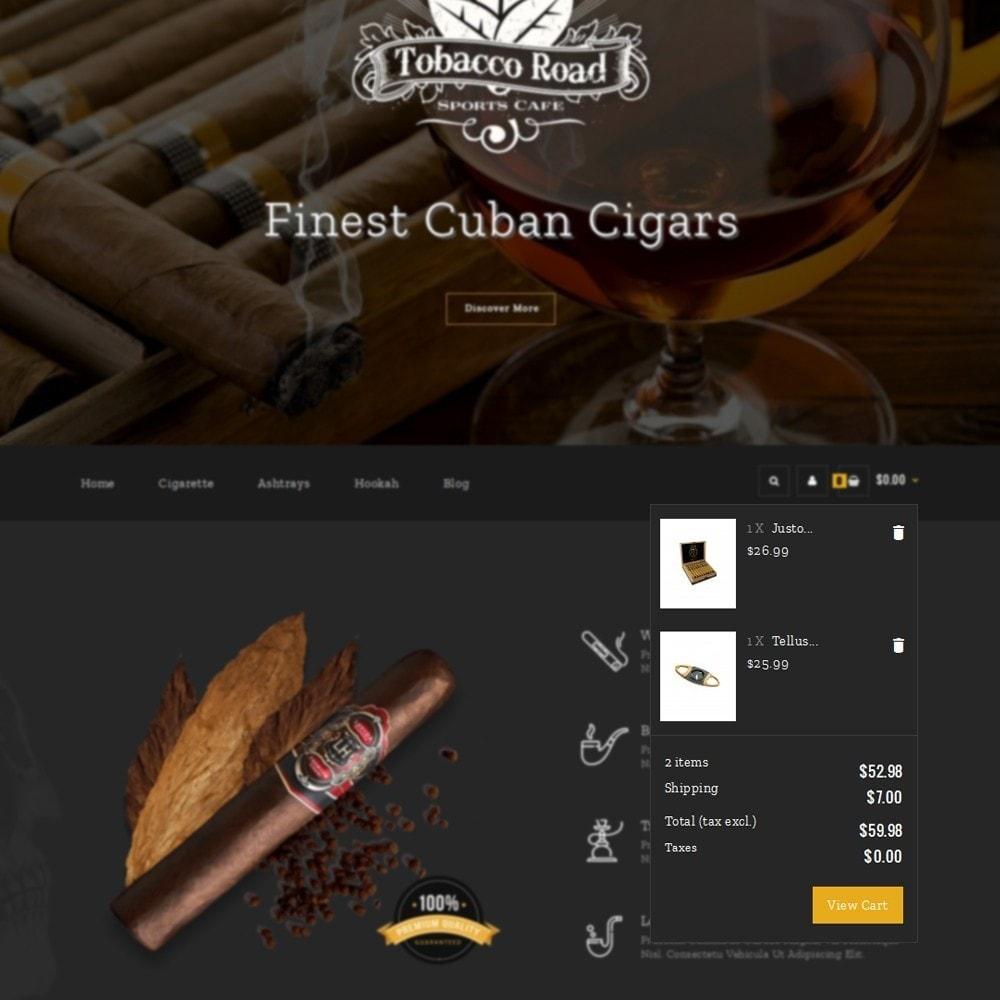 theme - Bebidas & Tabaco - TobaccoRoad Tobacco Shop - 6