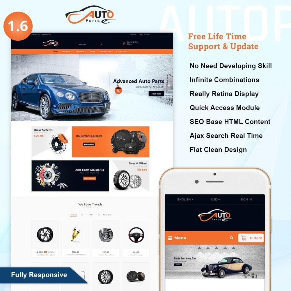 theme - Auto & Moto - Auto Part - Automotive Shop - 1