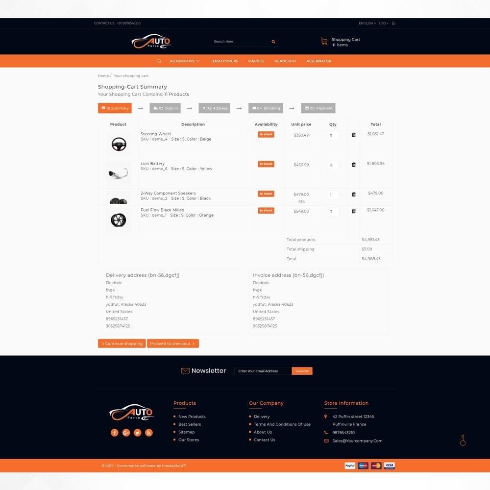 theme - Auto & Moto - Auto Part - Automotive Shop - 5