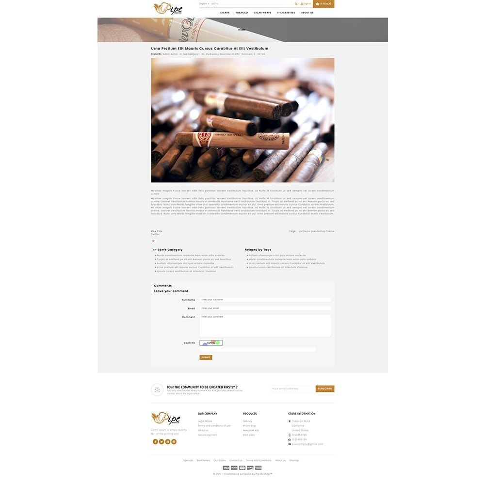 theme - Boissons & Tabac - Tobacco Store - 8