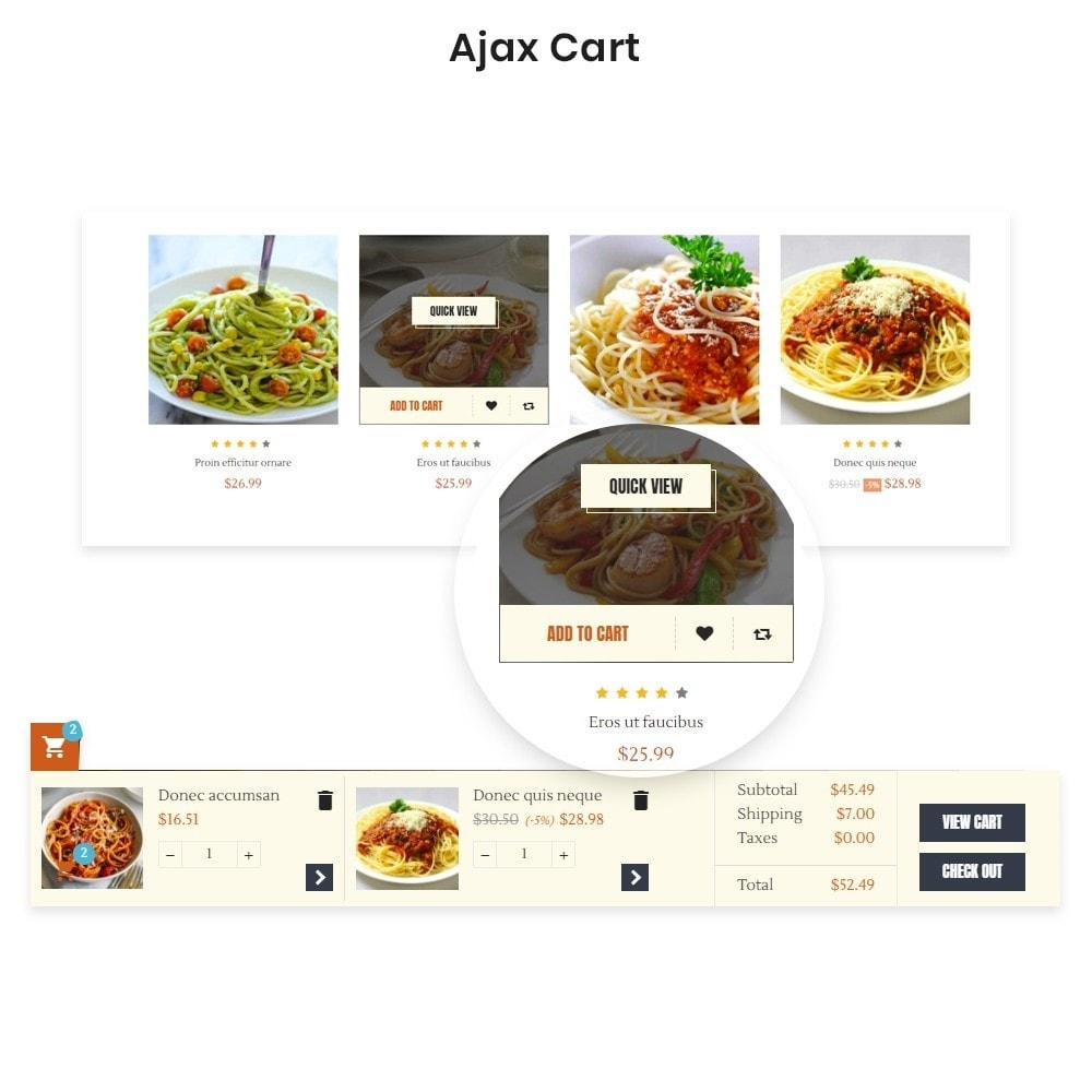 theme - Food & Restaurant - Ap Spaghetti - 1