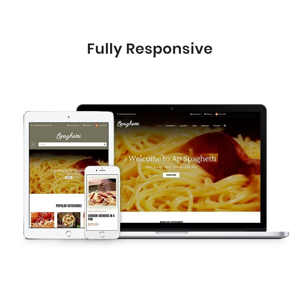 theme - Food & Restaurant - Ap Spaghetti - 2