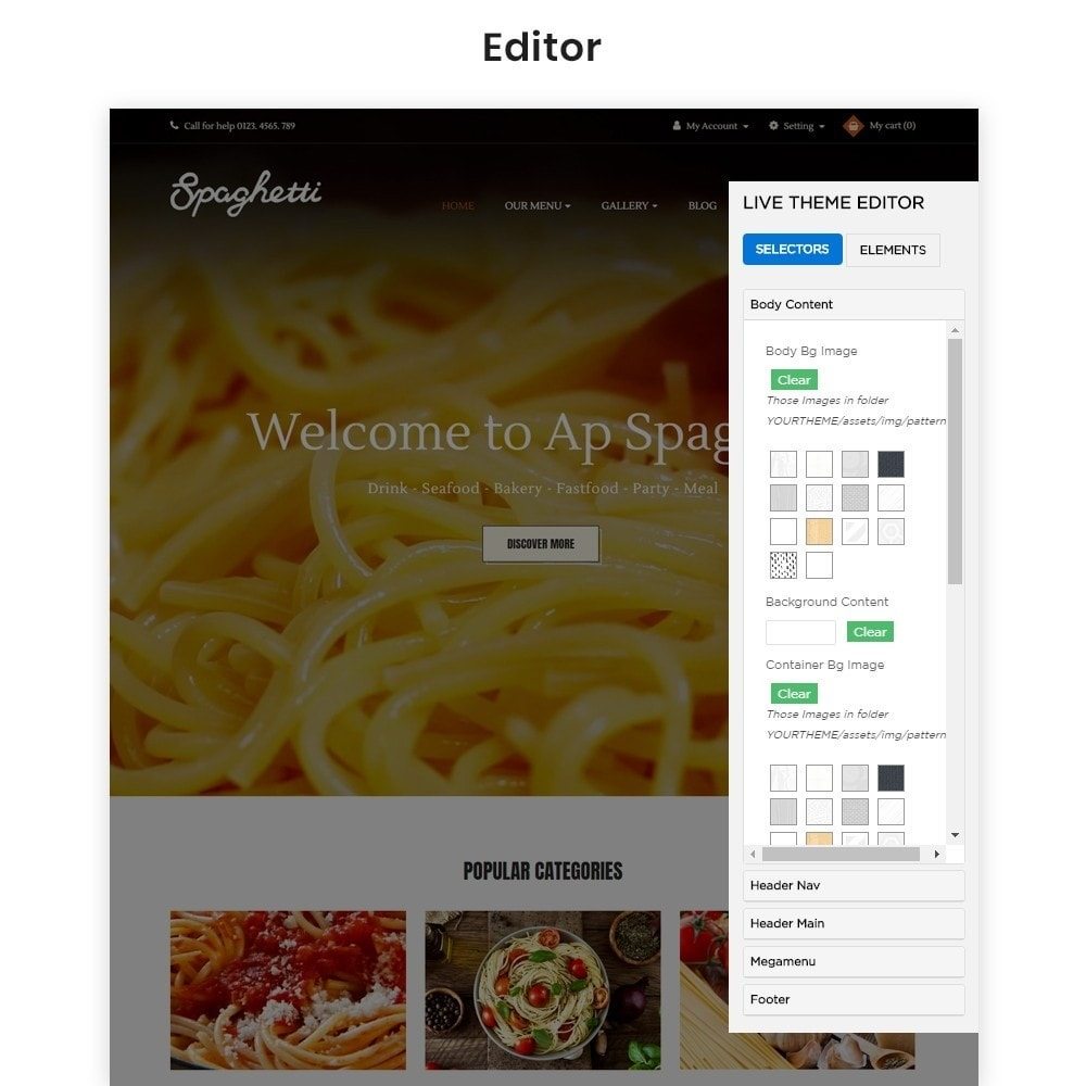 theme - Food & Restaurant - Ap Spaghetti - 4