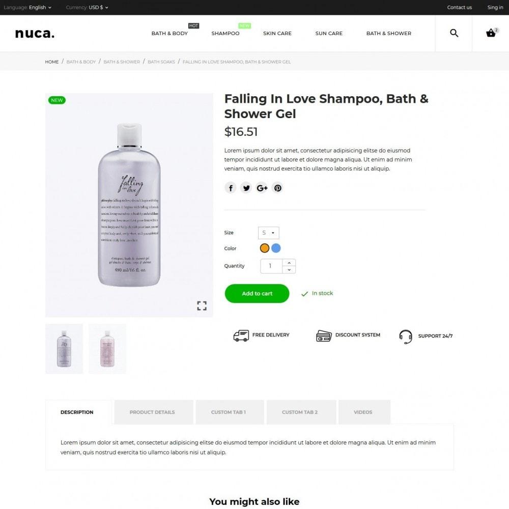 theme - Gezondheid & Schoonheid - Nuca Cosmetics - 8
