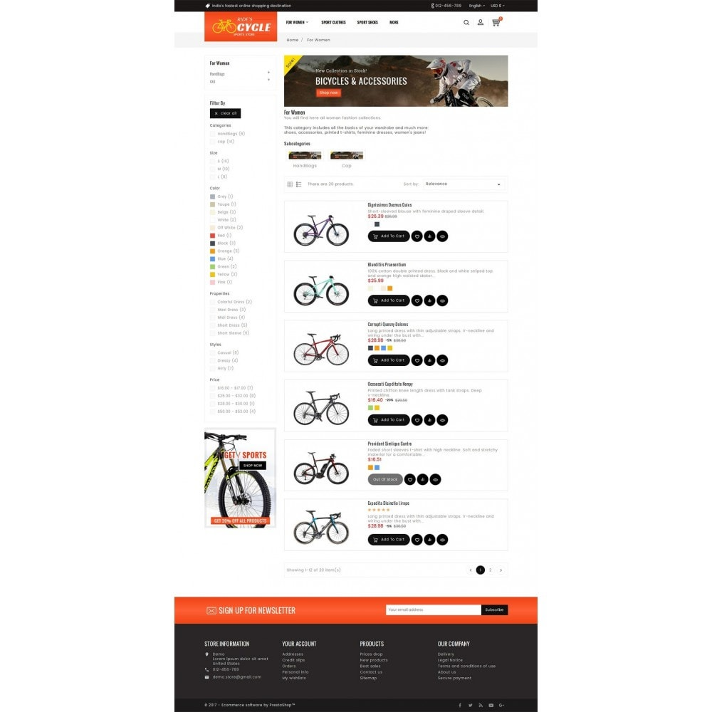 theme - Desporto, Actividades & Viagens - Sports Bicycle - 4