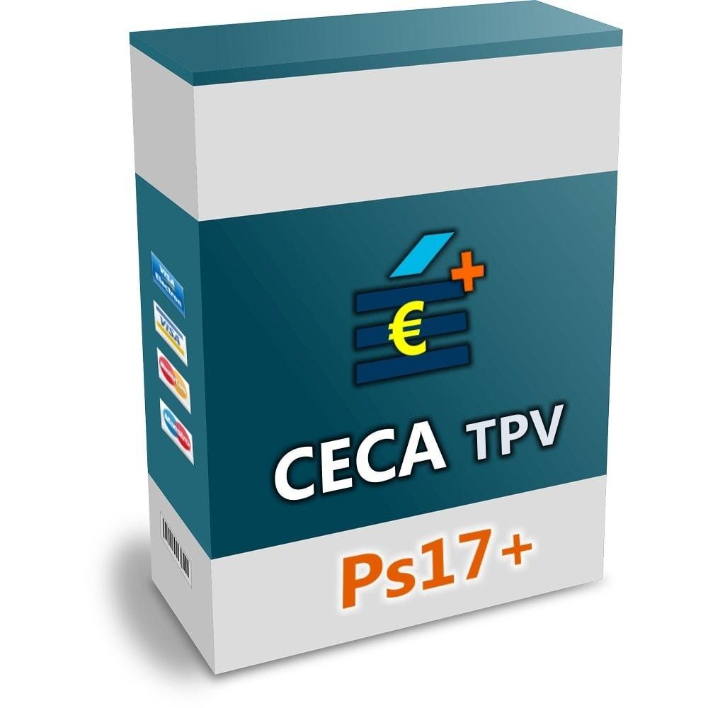 module - Pagamento con Carta di Credito o Wallet - CECA TPV PS17+ Secure Pay with credit cards - 1