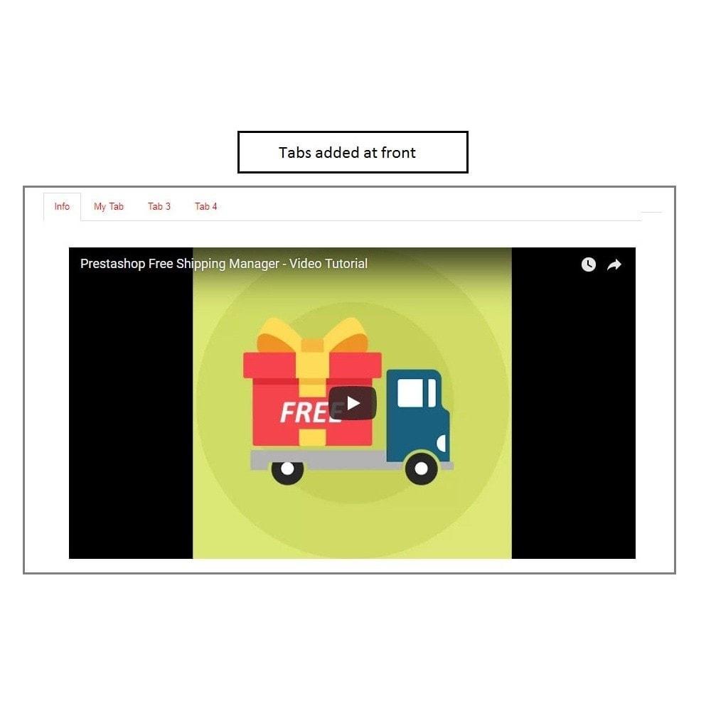 module - Informação Adicional & Aba de Produto - Knowband - Product Tabs - 1