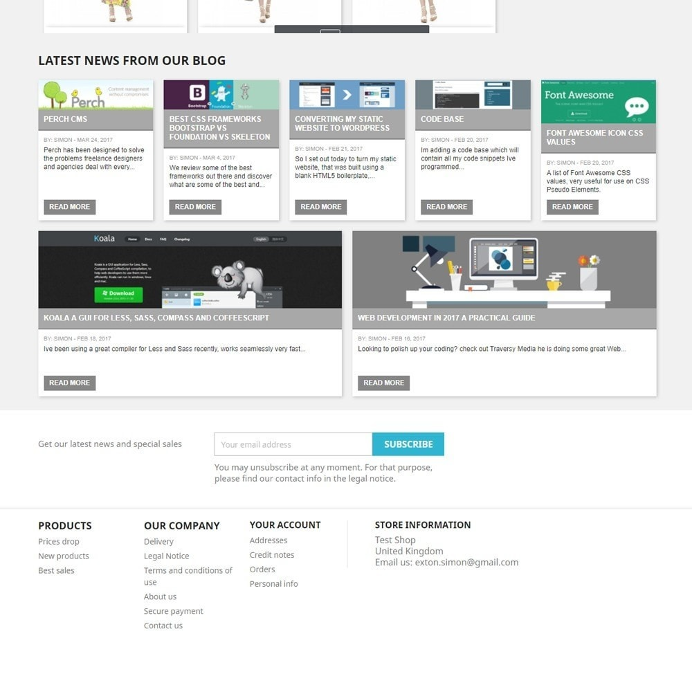 module - Blog, Forum & News - Display Recent Posts from your WordPress Blog - 3