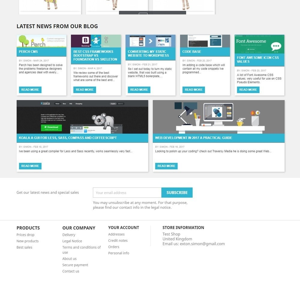 module - Blog, Forum & News - Display Recent Posts from your WordPress Blog - 4