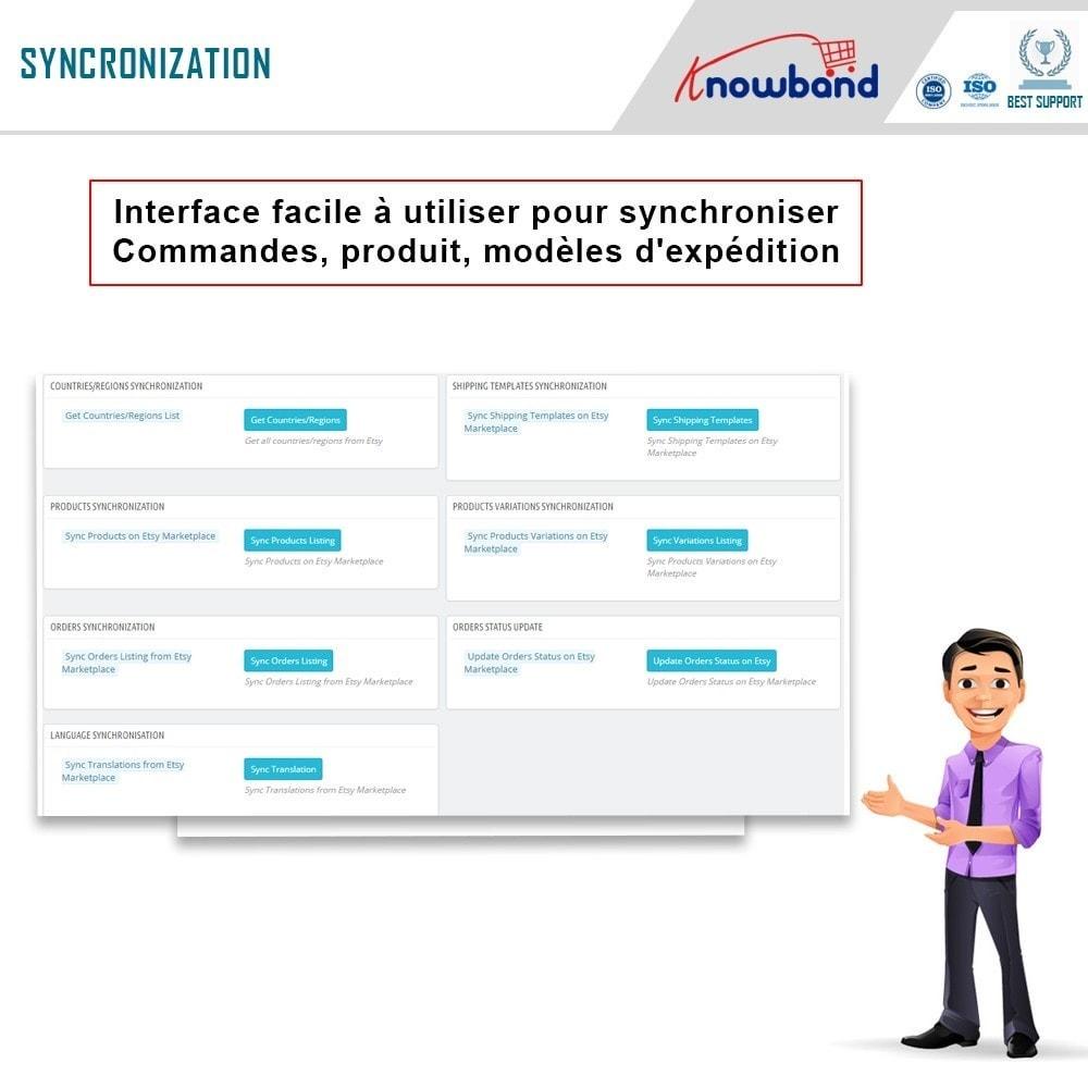 module - Marketplaces - Intégration de la Marketplace Etsy - 6