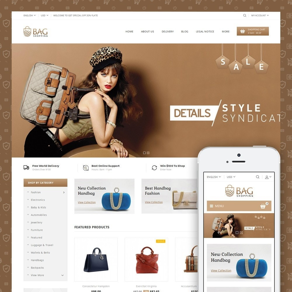 theme - Moda y Calzado - Bag Shop - 1
