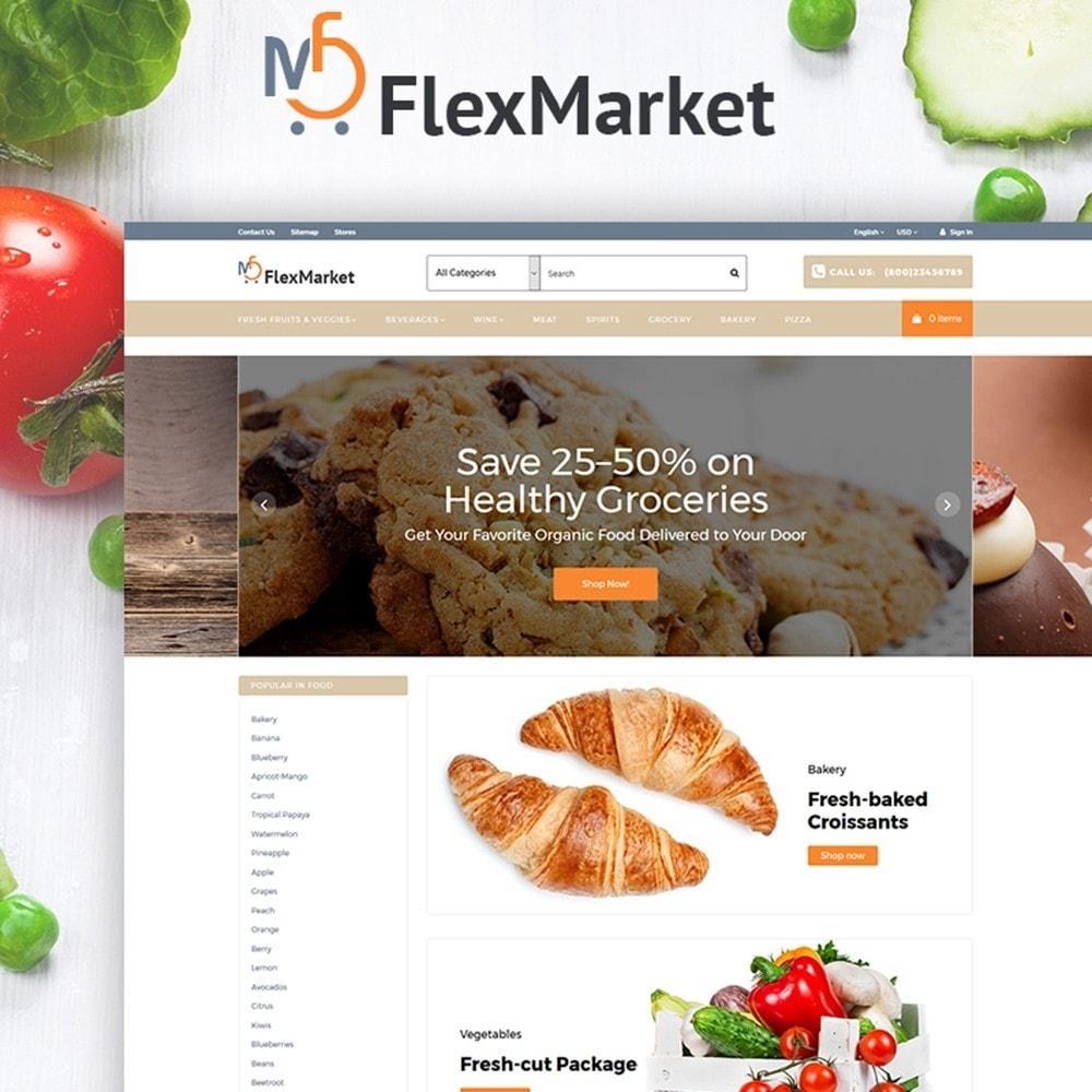 theme - Alimentos & Restaurantes - FlexMarket - 1