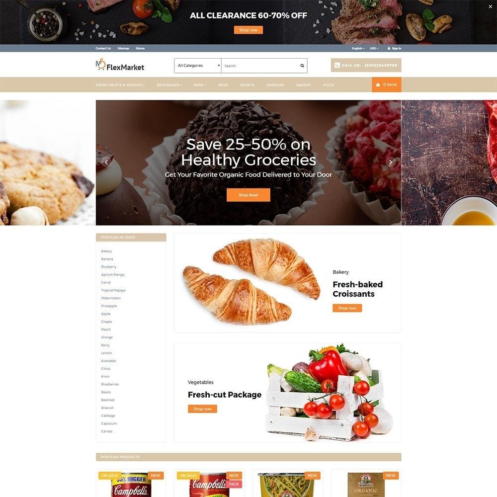 theme - Alimentos & Restaurantes - FlexMarket - 2
