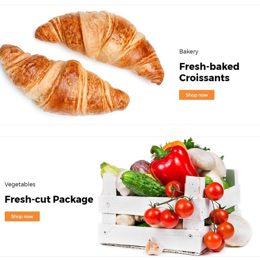 theme - Alimentos & Restaurantes - FlexMarket - 4
