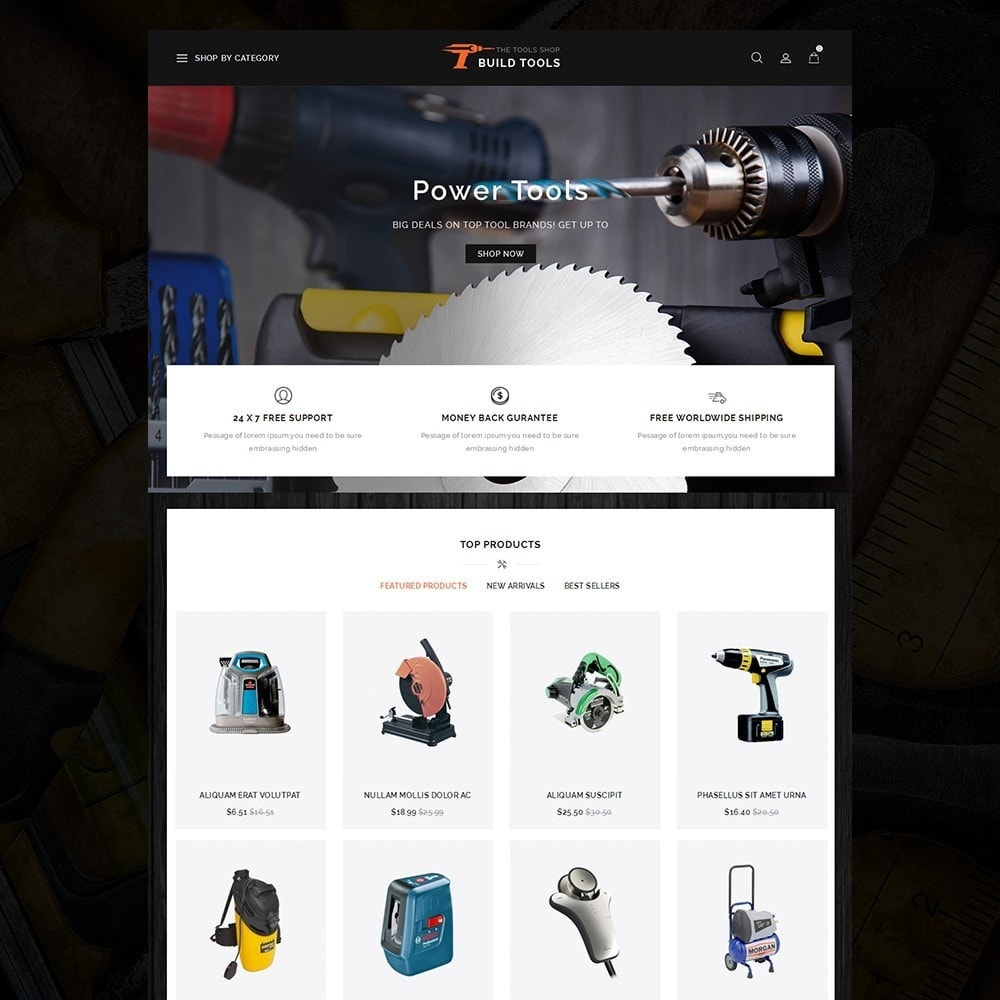 theme - Coches y Motos - Build Tools - Online Store - 2