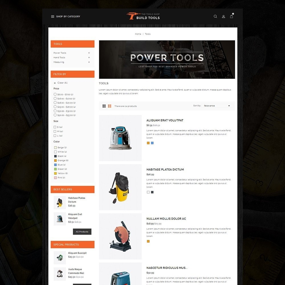 theme - Coches y Motos - Build Tools - Online Store - 4