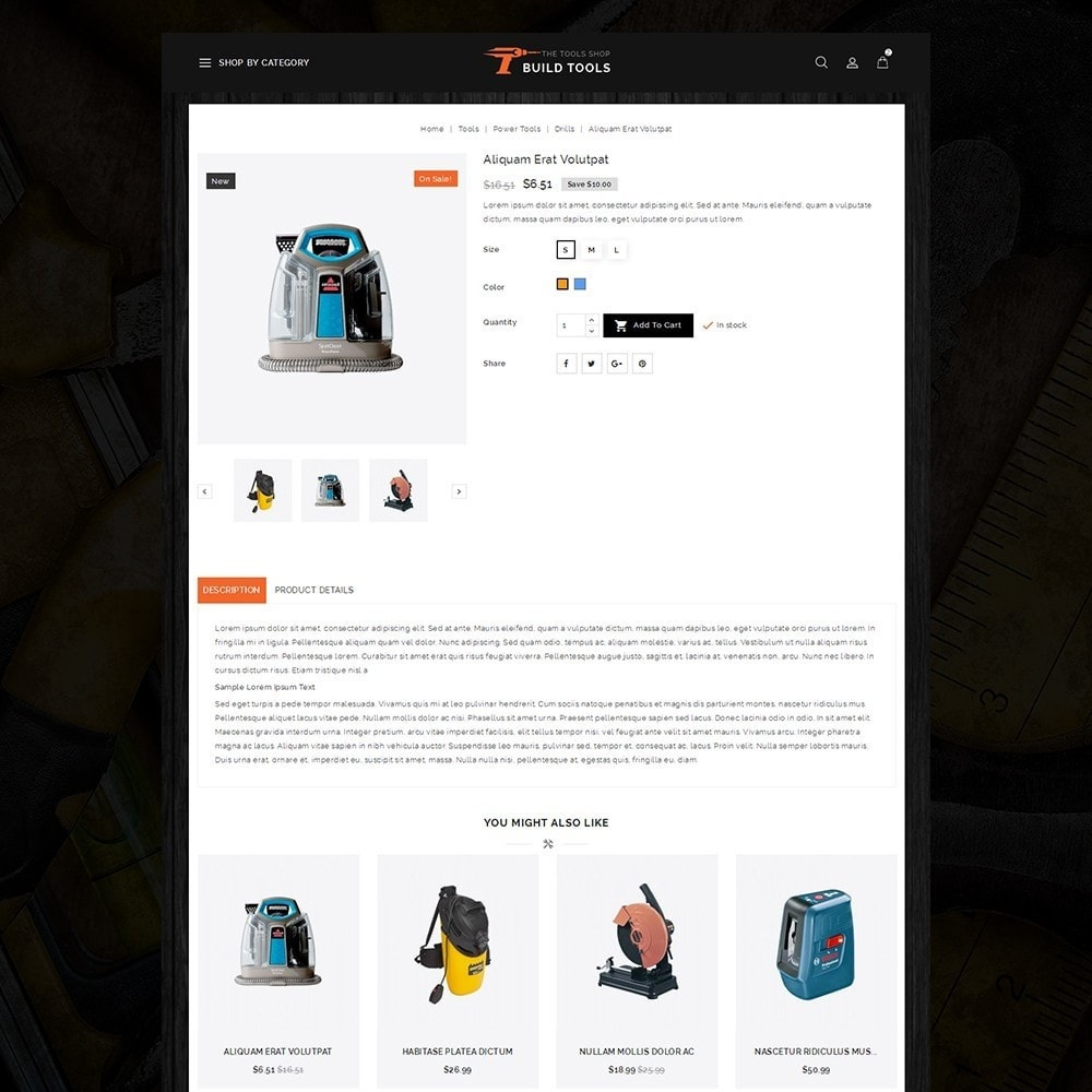 theme - Coches y Motos - Build Tools - Online Store - 5